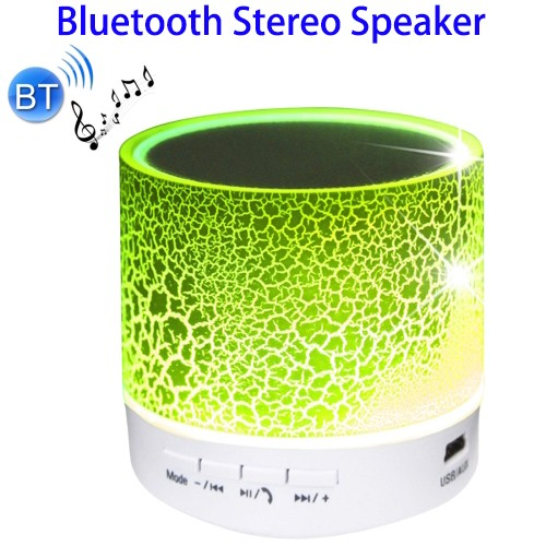 HI-FI Stereo LED Portable Mini Waterproof Bluetooth Speaker