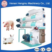 Wholesale rabbit fodder making processing plant animal feed pellet machine