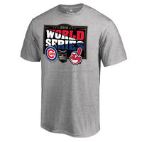 Custom Made O Neck Cotton Spandex Printing World Series Cubs New Fashion T Shirt Design