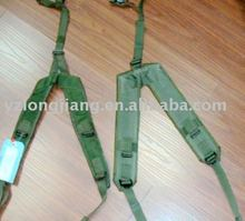 high quality 100% nylon backpack Y belt with fabric and webbing making