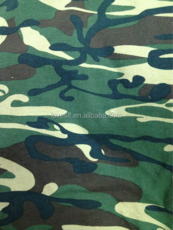 Army Uniform Camouflage Fabric / Camouflage Fabric For Military Uniforms