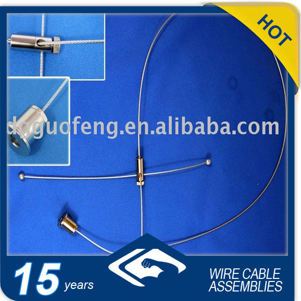 Led bulb/Ceiling Light Cable/Steel Wire Rope Suspension For Lighting System