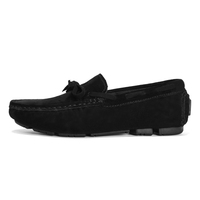 Comfortable slip-on genuine cow suede loafer shoes for men driving shoes men casual moccasin