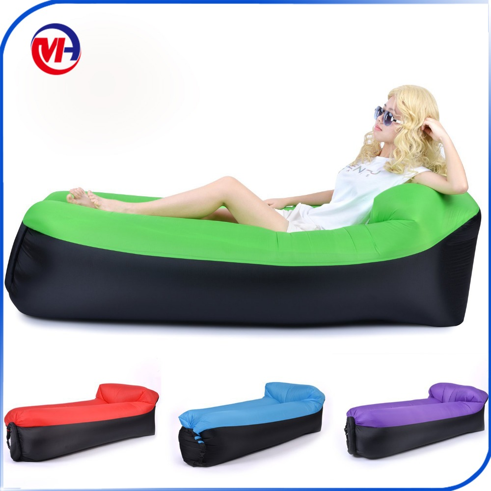 Inflatable Air Sofa Lazy Bag Lounger Laybag Outdoor Camping Sleeping Bags