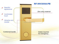 Electronic card for hotel door lock