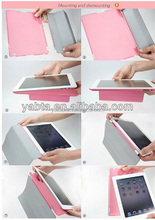 PU leather smart case, protection case for ipad, 2, 3, 4