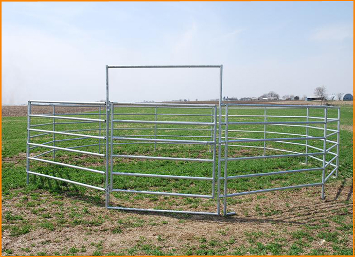 how to build a round pen cheap