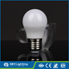 China e27 day night light sensor led bulb,g45 led plastic lamp bulb cover