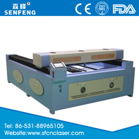 SF1318 jinan factory supplies directly laser cutting machine for sale