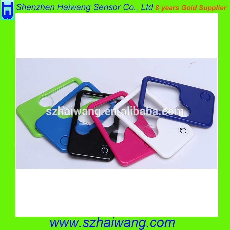 Promotion Gift PVC Credit Magnifier for Bookmark