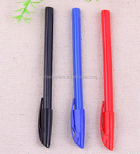 pure color plastic oem printed ballpen