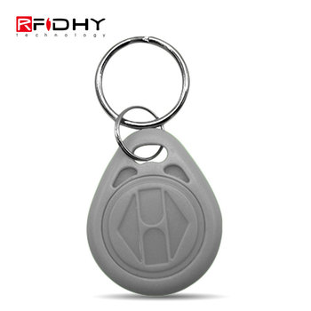 Translucent MIFARE Classic 1K RFID ABS Sailboat Key Ring