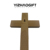 Easter Decorative Religious Engraving Wooden Crosses