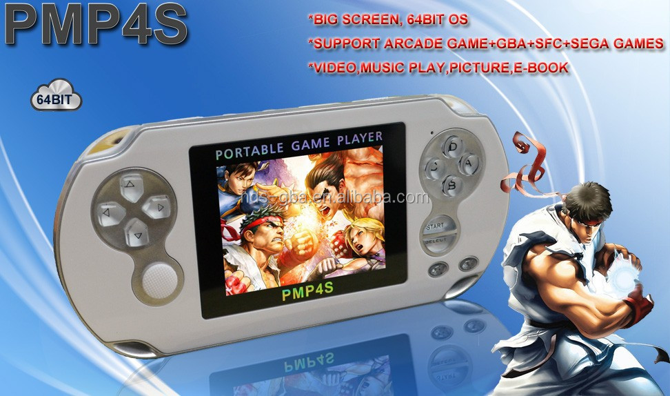 HD screen handheld game console PMP-4S