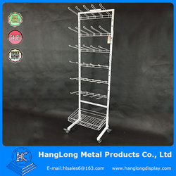 Metal Supermarket Cell Phone Accessory Display Rack