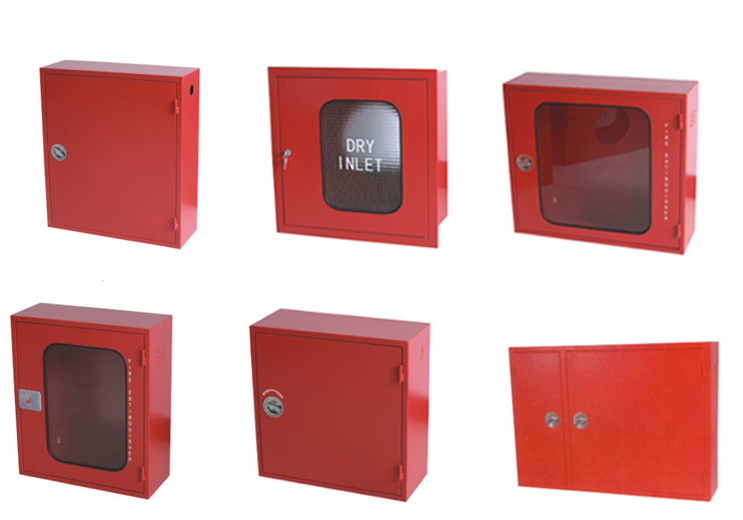 2017new product wholesale price square one door fire fighting cabinet, fire hose cabinet price