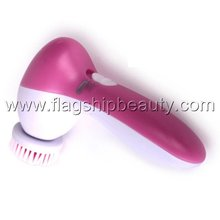5 In 1 beauty facial cleaner electric face exfoliator