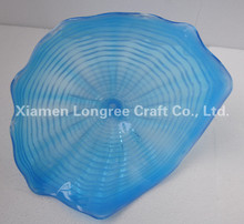 Hot Sale 100% Handmade 25 cm to 50cm Diameter Star Shape Wall Decor Murano Glass Plate
