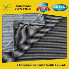 SANMIAO Brand small order cheap candy stripe denim fabric WHCP-13361