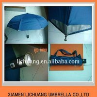 "21""* 8 k LED umbrella auto open & auto close safety style"