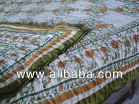 Indian Ethnic Quilts Cotton printed Jaipur,s famous quilts &blankets quilted patchwork handmade Printed design home soft quilts