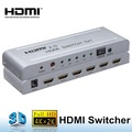5x1 5 Port Hdmi 2.0 4k/60Hz video projector seamless Swither mixer With Ir remote control