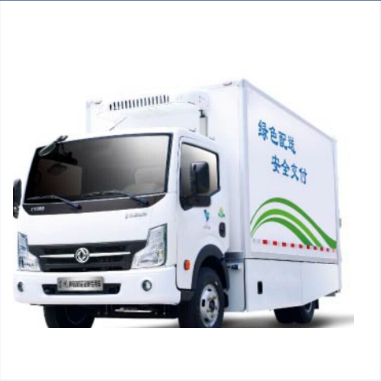 Factory sale 3Ton logistics vehicle 4x2 electric van vehicle for sale