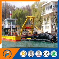 The cutter suction dredger and type diesel engine
