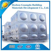 China new design stainless steel building water tank for wholesales