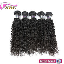 Factory Wholesale Price Indian Curly Remy Virgin Bulk Hair Weave