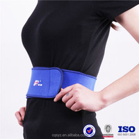Safety neoprene healthy slimming back support belt
