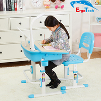 Multifunctional Ergonomic Metal Children Study Desk