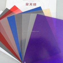 Easy to install clear vinyl plastic panels pvc transparent board