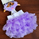 Small Medium Dogs Clothes Party Dresses Pets Wedding Satin Puppy Costume Tutu