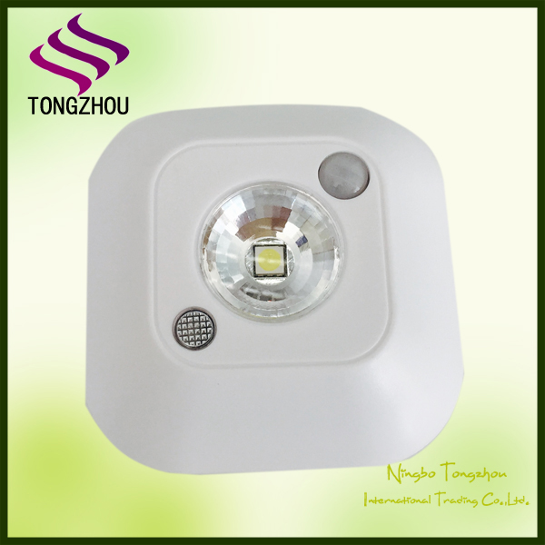Hot sale battery operated mini led lights with motion sensor