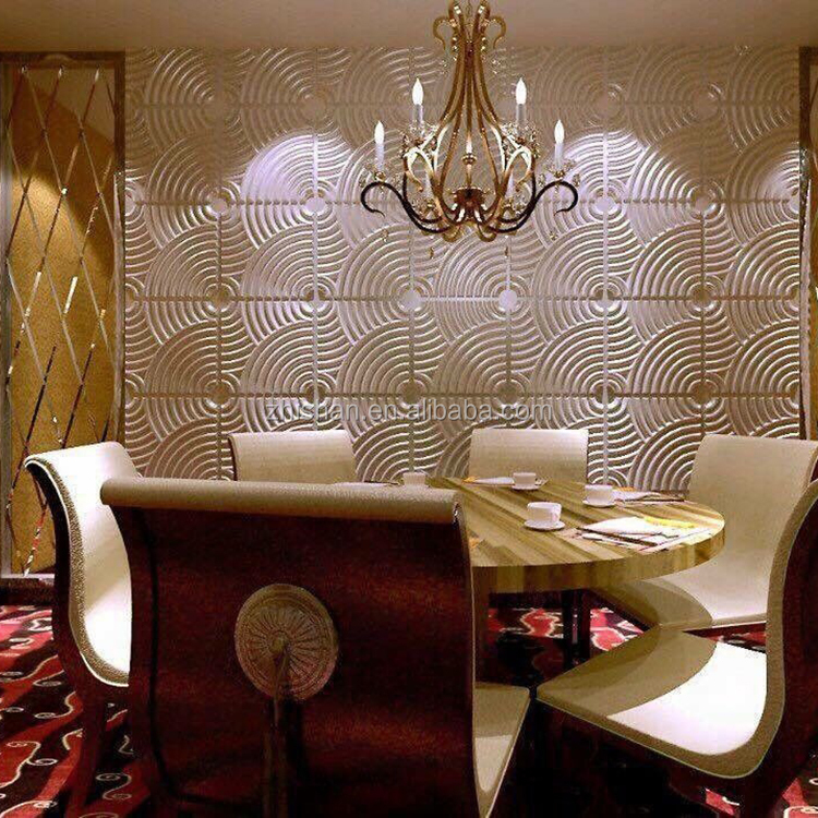 Mordern new type interior decoration materials 3d wall tiles/3d wall coverings