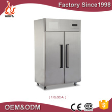 Cooling System Europe Brand Compressor Stainless Steel Commercial Use Stainless Steel Refrigerator