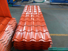 Hot Sale Corrugated Steel Roofing Sheet , Cheap Sale Roofing Steel Sheet Building Material
