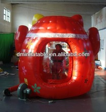 hot inflatable money cube/inflatable model/inflatable cash box (& Catch money )