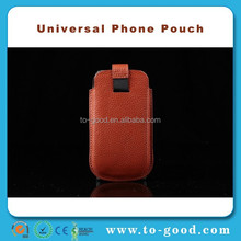 100% Top Quality Luxury Cowhide Leather Wallet Phone Pouch Cute Case For Samsung Galaxy S4 MiNi(Red)