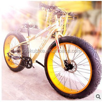 Trade assurance 2015 new style steel beach cruiser snow bike/bicycle/cycling with fat 4.0 tire ,OEM available, made in China