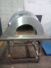 Newest Stainless Steel Outdoor Wood Fired Pizza Oven Brick Dome