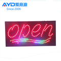 High Quality Acrylic Program LED Open Sign