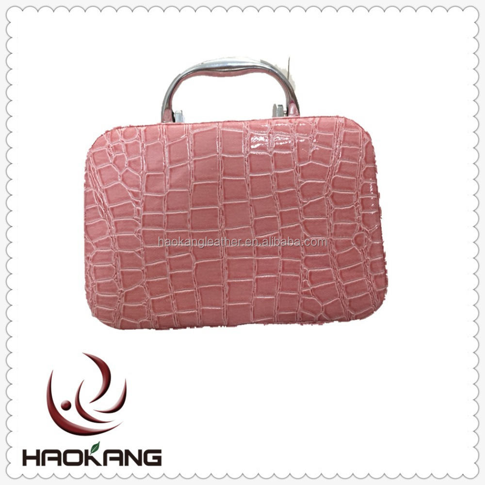 0.5mm crocodile skin embossed pvc leather