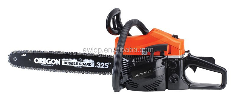 Awlop 50CC 2200W Gasoline Diesel Chain Saw with 0.325'' saw pitch