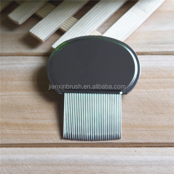 Head stainless steel combs steel nit comb for lice remove