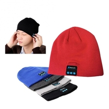 BT Beanie Hat for Man and Woman Outdoor Sports Wireless Earphone Soft Warm Cap with Stereo Speaker Hands-Free