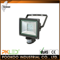 PKLED Taiwan IP54 14W LED Outdoor Floodlight with PIR sensor