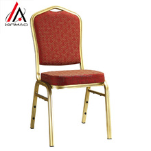 Best quality gold metal banquet chair for wedding