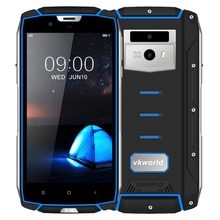 Dropshipping Waterproof VKworld VK7000 ram4GB 64GB Dual Back Cameras Face recognition 5600mAh 5.2 inch Android 8.0 Android phone